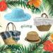 La nostra estate al mare…con borse e cappelli in paglia!